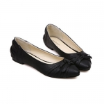 Casual Bowknot and Criss-Cross Design Women's Flat Shoes