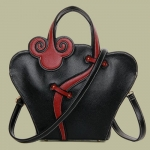 Ethnic Style PU Leather and Zip Design Women's Tote Bag