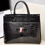 Fashionable Embossing and Metal Design Women's Tote Bag