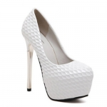 Party Embossing and Platform Design Pumps For Women